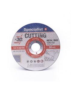 Metalo pj.diskas 125x1x22 mm