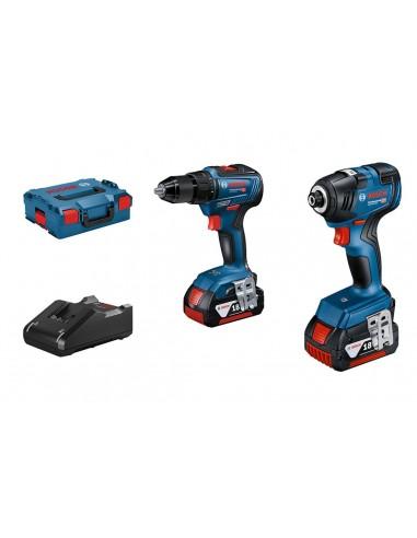 Įrankių rinkinys Bosch (GSR 18V-55 +...